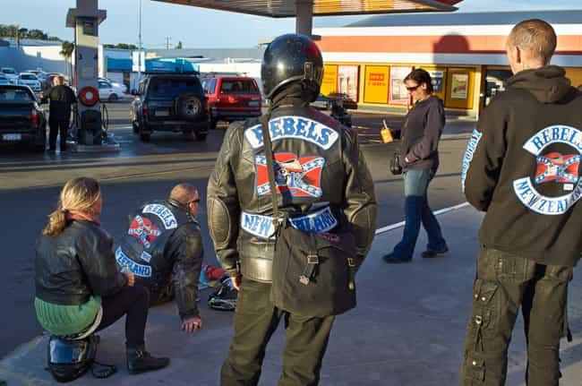 They Cause Trouble In Mu... is listed (or ranked) 1 on the list Things You Don't Know About Outlaw Motorcycle Gangs
