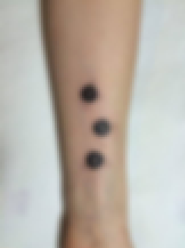 These Soot Sprites Are A Quiet... is listed (or ranked) 1 on the list 22 Subtle Anime Tattoos That Cleverly Reference Anime Series