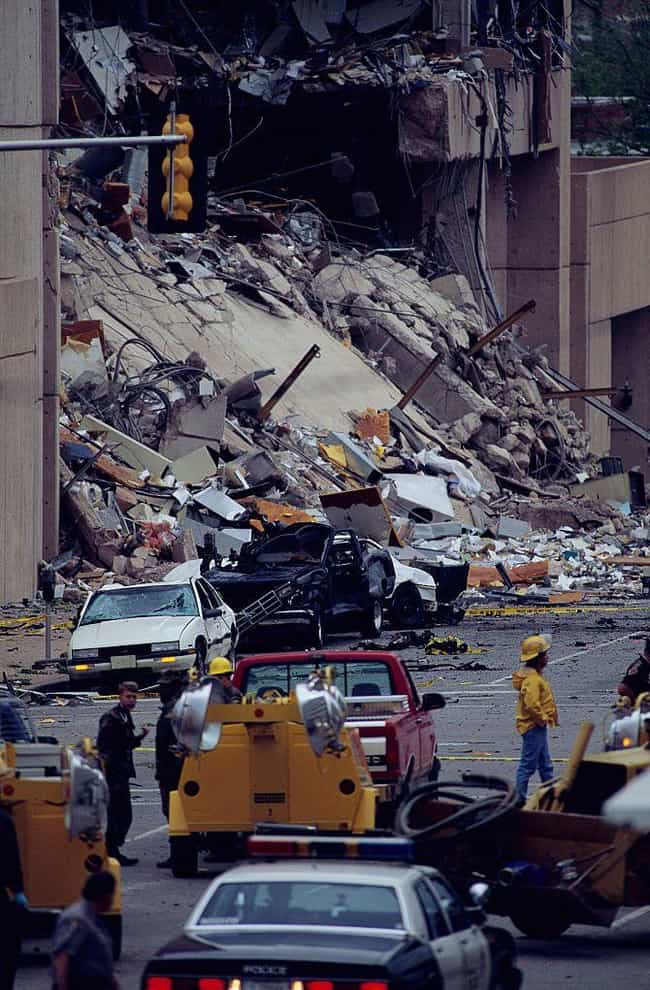 Total Devastation is listed (or ranked) 1 on the list Photos From The Aftermath Of The Oklahoma City Bombing