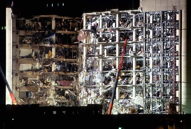 The Bomb Ripped Off The ... is listed (or ranked) 2 on the list Photos From The Aftermath Of The Oklahoma City Bombing