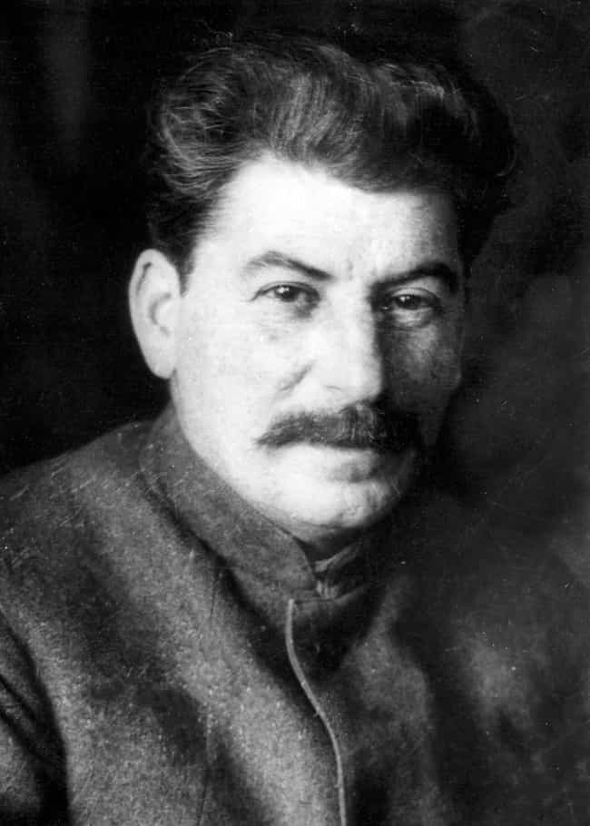 Stalin Is Easy To Pin Th... is listed (or ranked) 1 on the list Did Stalin Really Force Soviet Scientists To Create A Human-Chimpanzee Hybrid?