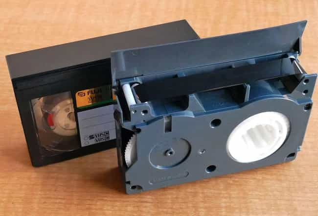 The Annoyance Of Rewindi... is listed (or ranked) 1 on the list Every Awesome (And Terrible) Thing You Remember Growing Up With VHS Tapes