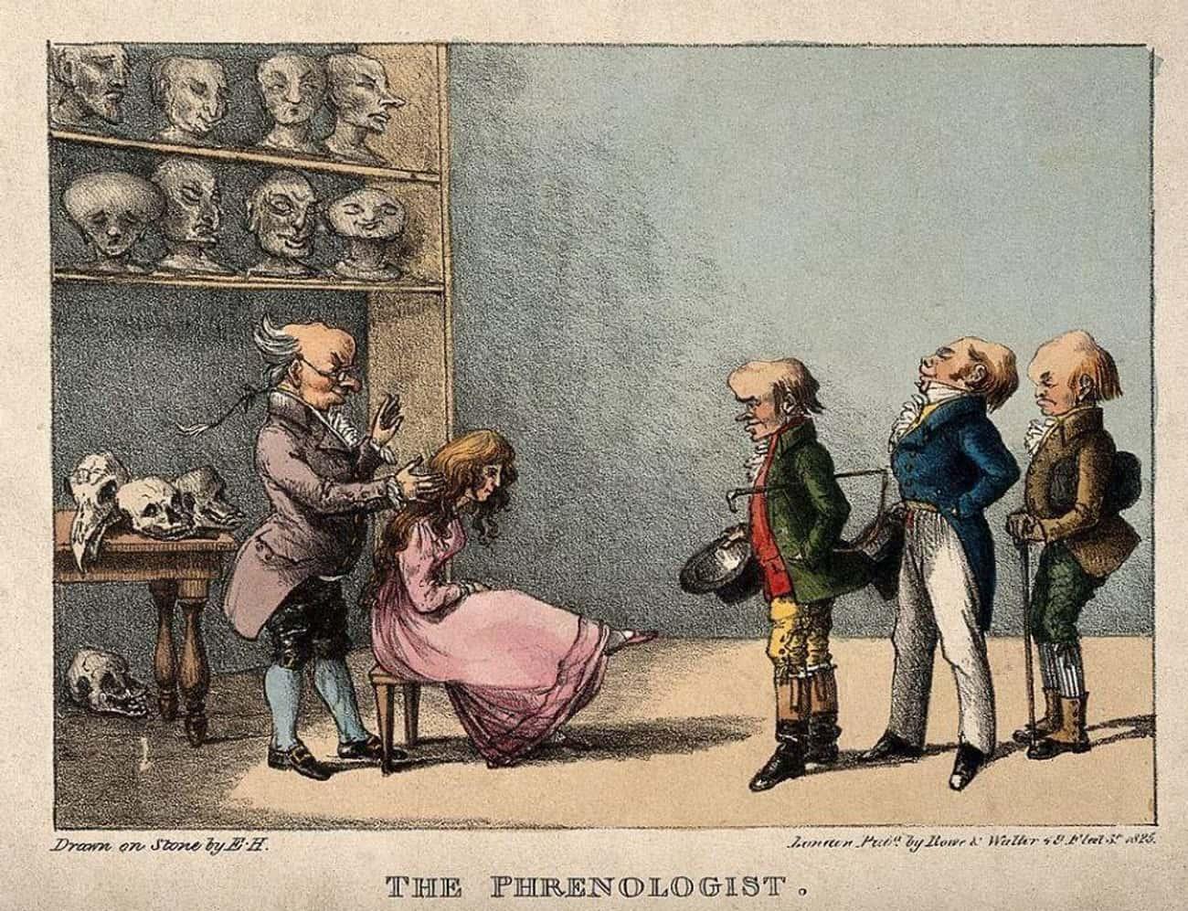 Franz Joseph Gall Created The Theory Of Phrenology