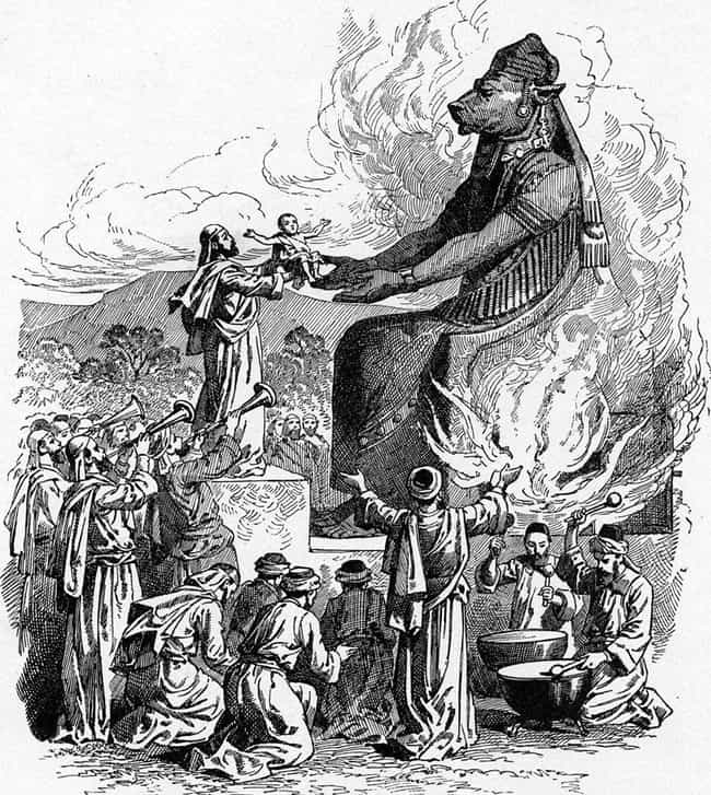 Moloch, The Demon Who De... is listed (or ranked) 3 on the list The Wickedest Hellbound Demons And Creatures Ever Conceived