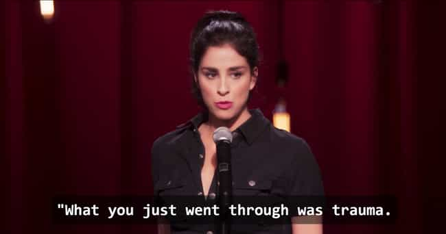 Silverman Almost Died Fr... is listed (or ranked) 1 on the list Surprising Things Sarah Silverman Revealed On You Made It Weird