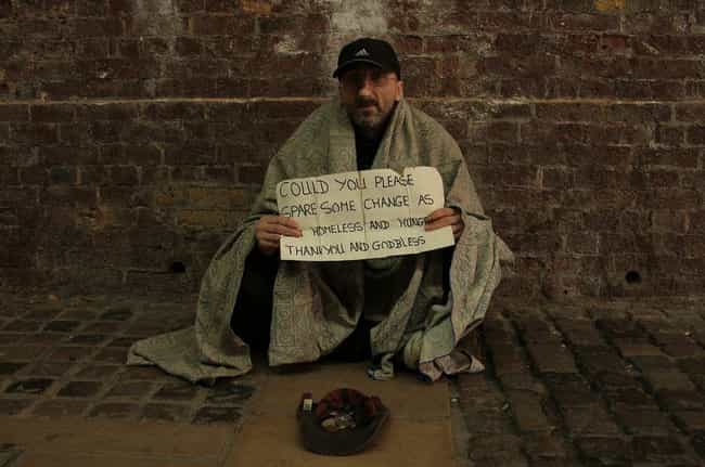By Criminalizing Panhandling is listed (or ranked) 3 on the list Here's How Cities Are Subtly Hiding Their Homeless Populations