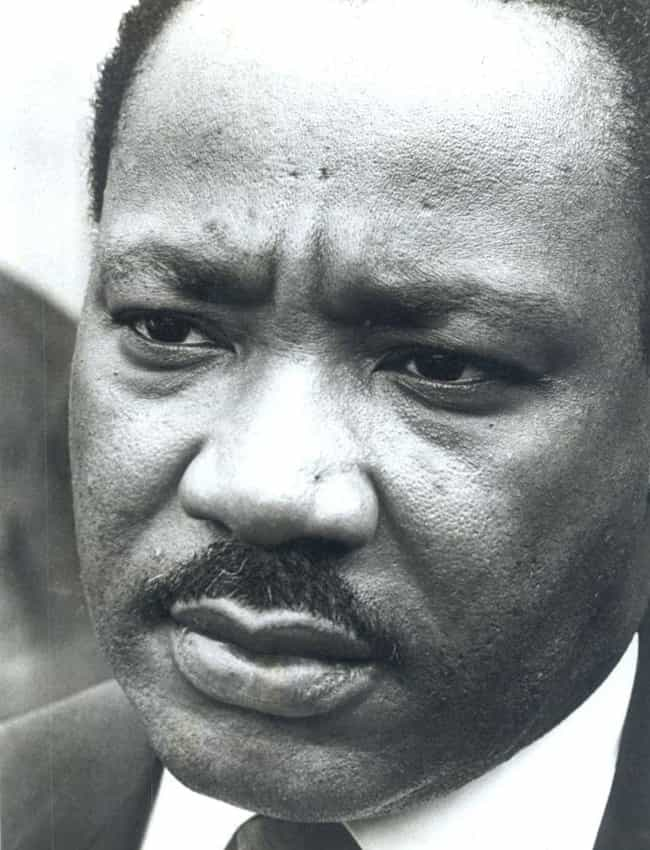 He Tried To Commit Suicide At ... is listed (or ranked) 1 on the list 15 Surprisingly Dark Facts About Martin Luther King Jr. Most People Don't Know