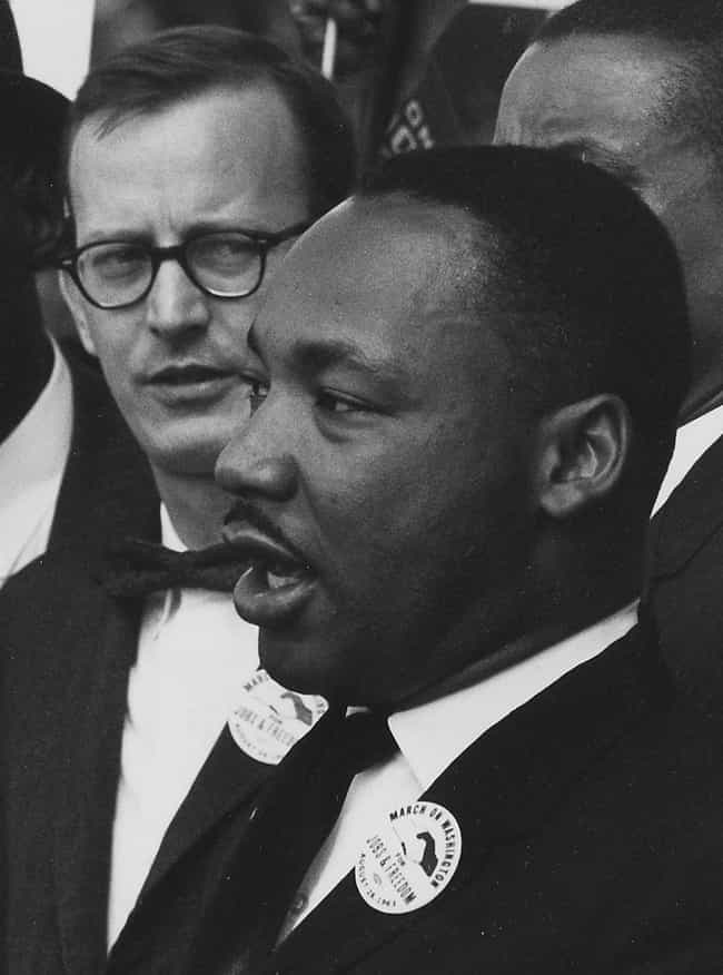 He Was Smoking A Cigaret... is listed (or ranked) 5 on the list 15 Surprising And Little-Known Facts About Martin Luther King Jr.