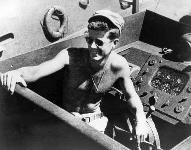 Lt. Kennedy's Boat Was S... is listed (or ranked) 1 on the list The Time A Coconut Literally Saved John F. Kennedy's Life