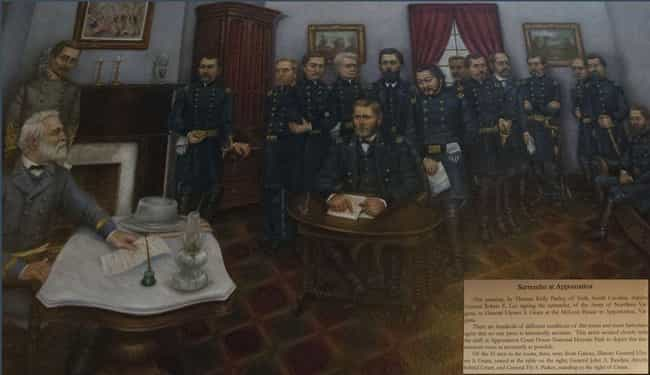 The Surrender Was Signed In Ap... is listed (or ranked) 1 on the list What Actually Happened Right After The Confederates Surrendered The Civil War?