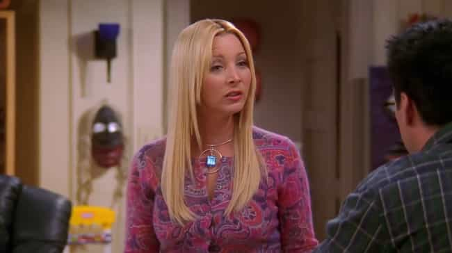 The One Where Phoebe Is Actual... is listed (or ranked) 2 on the list 14 Friends Fan Theories That Are Just Crazy Enough To Be True