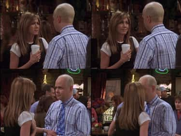 The One Where Gunther Always Reserves The Central Perk Table For Rachel