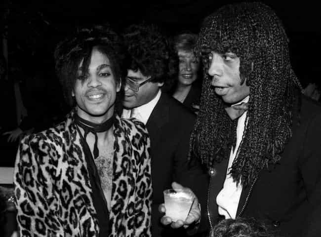 He Made Prince Cry Like ... is listed (or ranked) 1 on the list The Craziest Stories From Rick James's Life