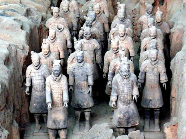 No Two Soldiers Look Alike is listed (or ranked) 3 on the list Fascinating Facts About China's Terracotta Army