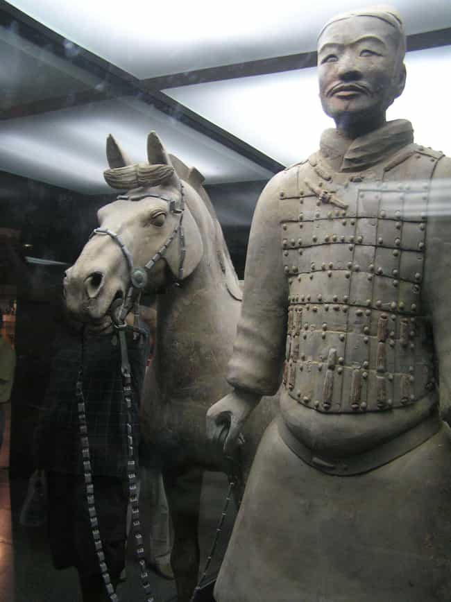 700,000 Laborers Built The Sta... is listed (or ranked) 2 on the list Fascinating Facts About China's Terracotta Army