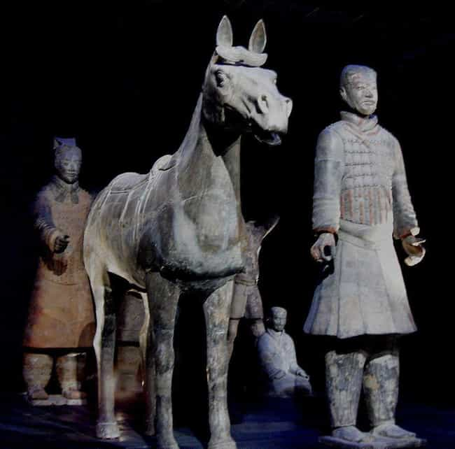 The Horse Statues Received As ... is listed (or ranked) 4 on the list Fascinating Facts About China's Terracotta Army