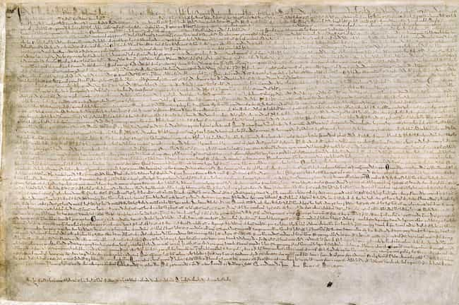 The Magna Carta Laid The Groun... is listed (or ranked) 3 on the list How The Dark Ages Were Actually Rich In Culture And Crucial To Modern Society