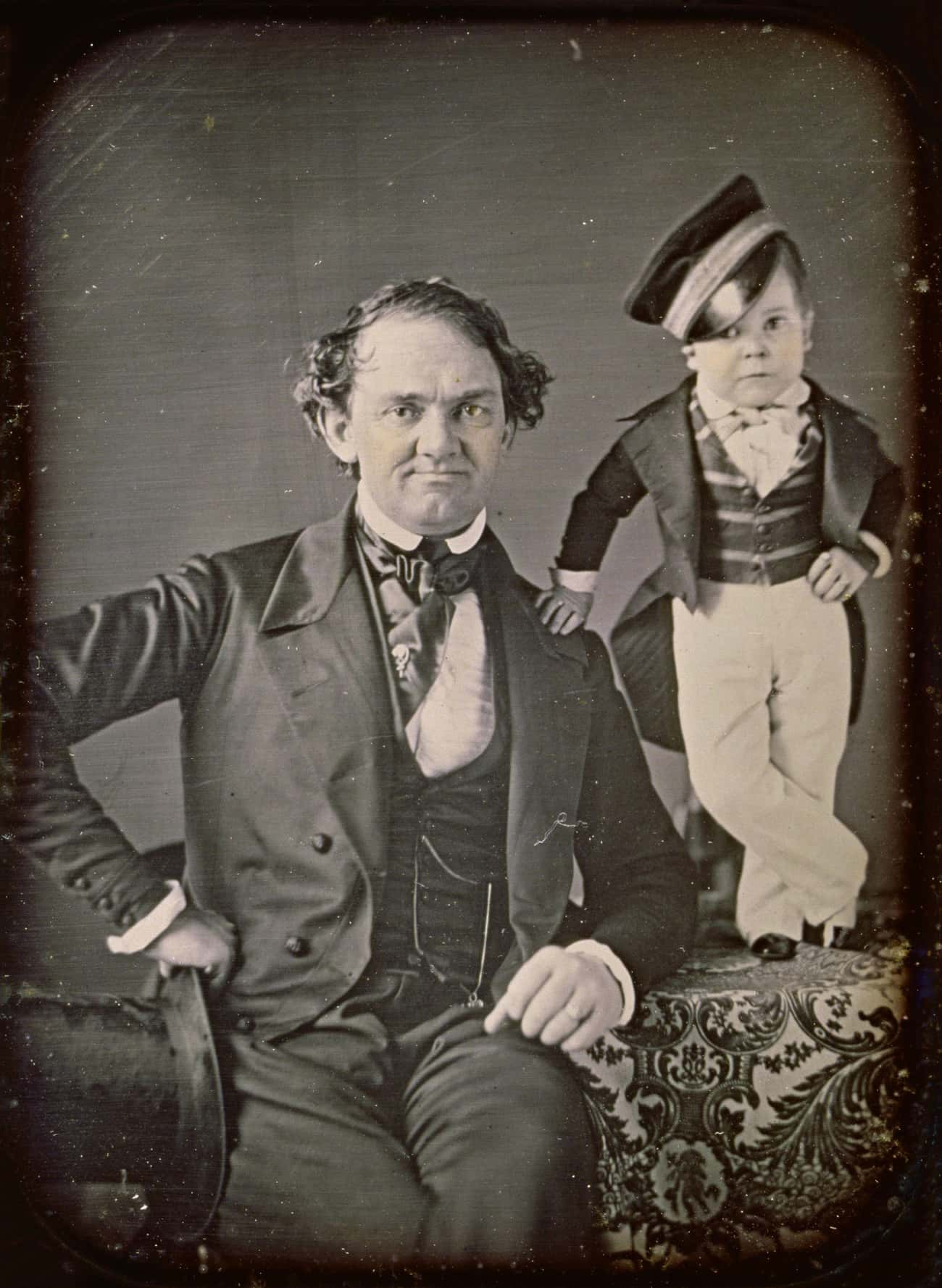 He Was Discovered By Distant Relative P.T. Barnum