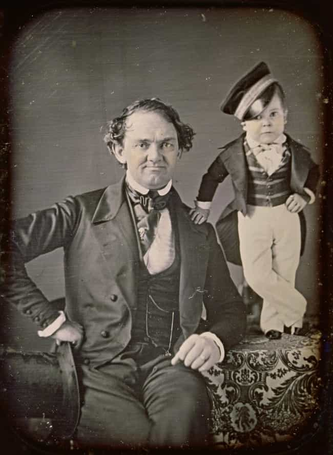 He Was Discovered By Dis... is listed (or ranked) 2 on the list General Tom Thumb Was The Most Famous Circus 'Freak' of All Time