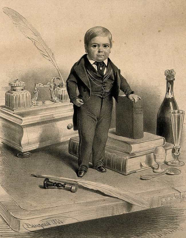 He Earned $3 A Week At B... is listed (or ranked) 4 on the list General Tom Thumb Was The Most Famous Circus 'Freak' of All Time
