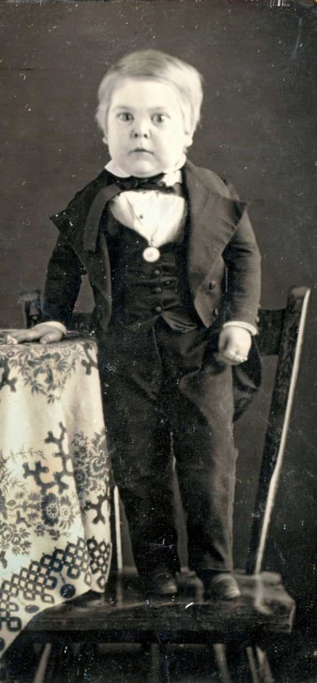 He Was A Big Baby At Bir... is listed (or ranked) 1 on the list General Tom Thumb Was The Most Famous Circus 'Freak' of All Time