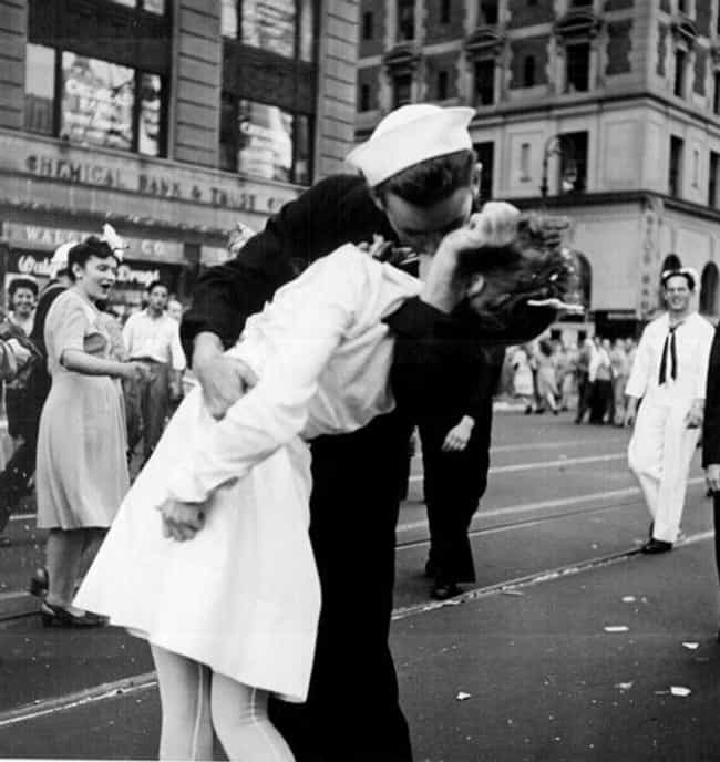 In Reality, The Sailor A... is listed (or ranked) 3 on the list That Famous VJ-Day Kiss Photo May Have Documented A Non-Consensual Kiss