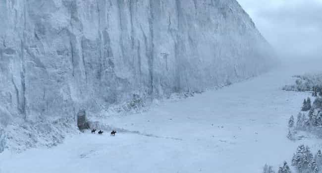 The Wall is listed (or ranked) 3 on the list A Rundown Of Every Major Place In The Game Of Thrones Universe
