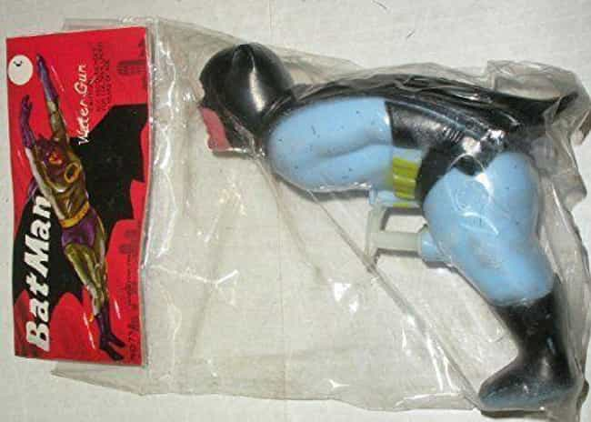 Vintage Batman Water Pis... is listed (or ranked) 2 on the list Super Awkward Superhero Products