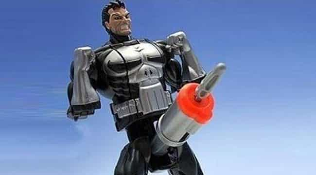Punisher Shape Shifters ... is listed (or ranked) 3 on the list Super Awkward Superhero Products