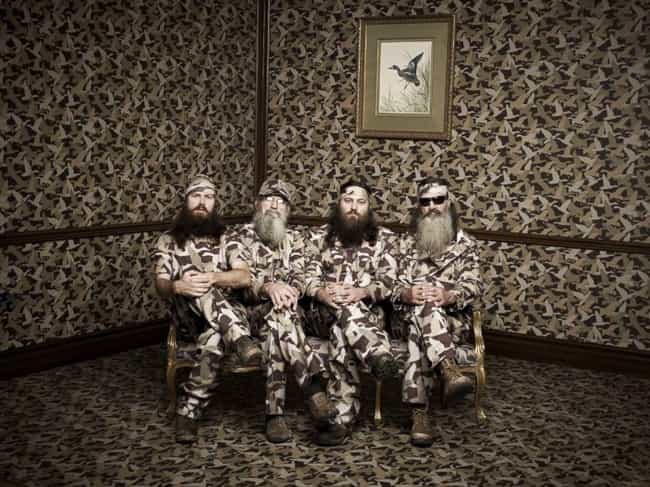 """They're Insanely Wealthy... is listed (or ranked) 3 on the list The Truth About """"Duck Dynasty"""""""