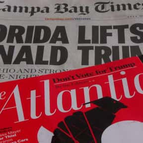 The Atlantic is listed (or ranked) 1 on the list The Very Best Political Magazines, Ranked