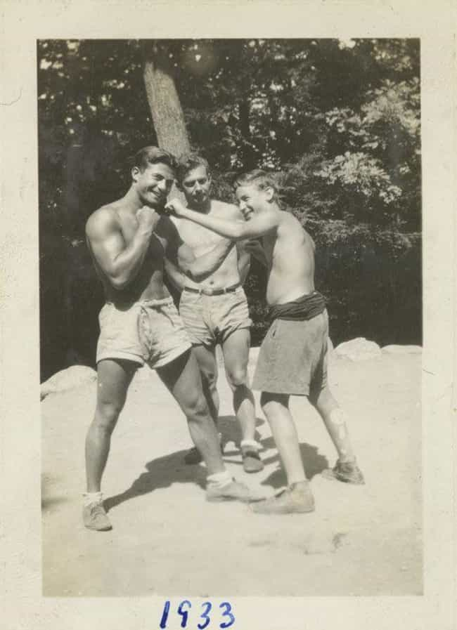 Boxing At Summer Camp, 1933 is listed (or ranked) 1 on the list These Great Depression Photographs Prove Americans Have Always Been Resilient
