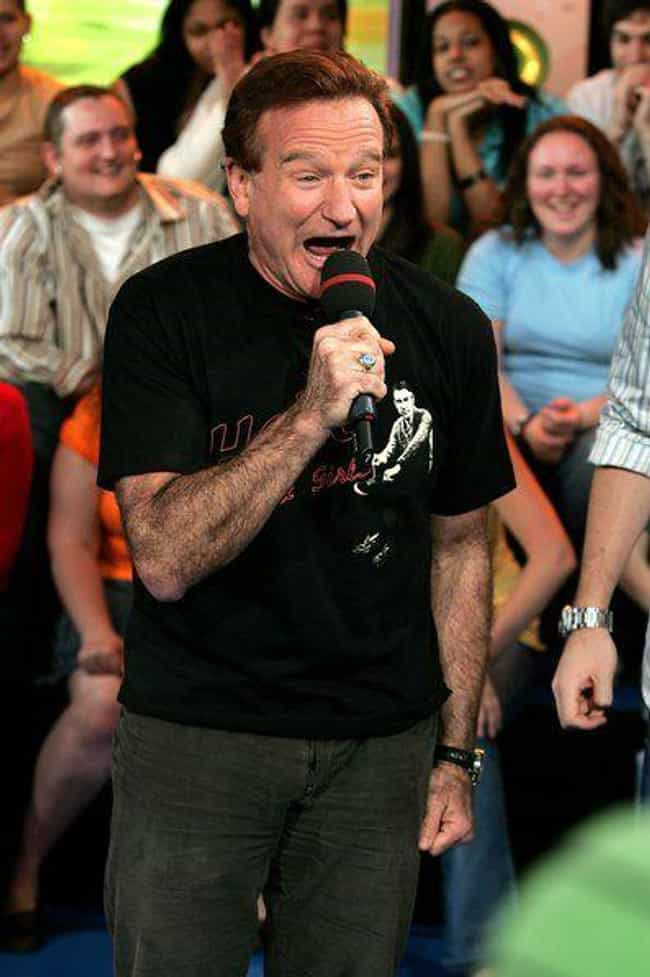 When Robin Williams Stopped By is listed (or ranked) 1 on the list The Most Memorable Moments From Total Request Live