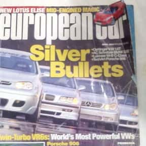 European Cars is listed (or ranked) 16 on the list The Very Best Car Magazines, Ranked