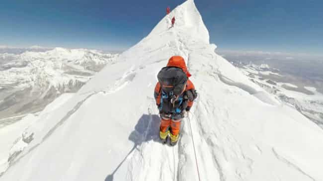 Climbers Paid Nearly $60... is listed (or ranked) 3 on the list The Chilling Story Behind The Deadliest Day In Mount Everest's History