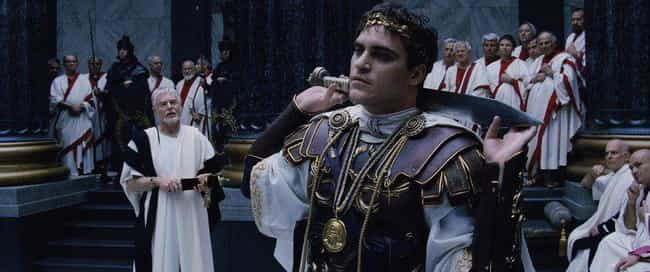 Commodus Didn't Kill His Dad is listed (or ranked) 1 on the list Gladiator Might Be One of The Most Historically Inaccurate Movies Ever