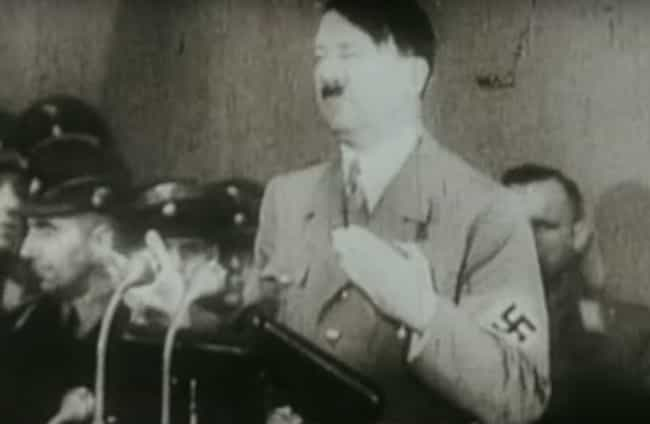 Your Oratory Skills Are ... is listed (or ranked) 4 on the list Signs You're The Reincarnation Of Hitler