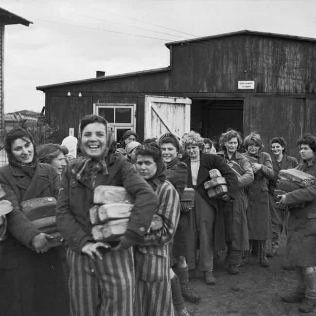 Eventually, Bergen-Belso... is listed (or ranked) 3 on the list The Famous Photo That Captured The Moment The Holocaust Was Finally Over