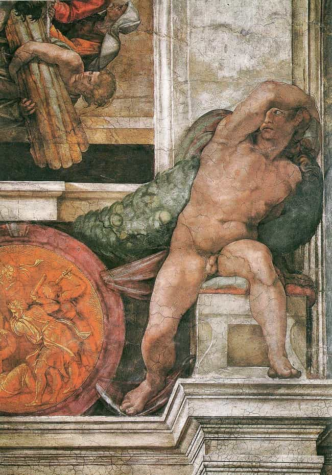 The Nudes Were Considered Inap... is listed (or ranked) 4 on the list Things You Didn't Know About The Sistine Chapel