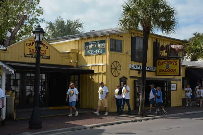 Captain Tony's Saloon Was ... is listed (or ranked) 1 on the list Get Spooky Crunk In These Haunted Florida Bars