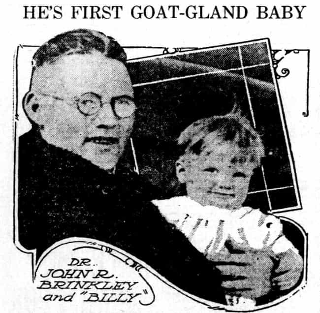 Men Would Have Goat Test... is listed (or ranked) 1 on the list Stupid And Just Plain Scary Pre-Viagra Cures For Impotence