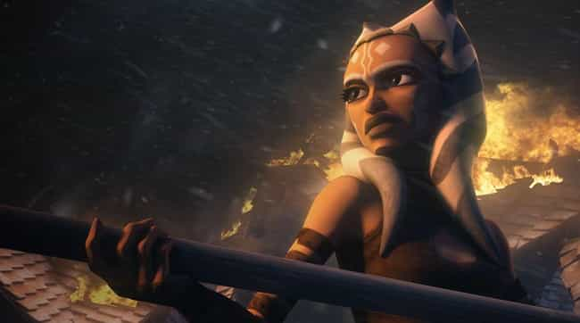 Her Headdress Celebrates... is listed (or ranked) 2 on the list Things You Didn't Know About Anakin Skywalker's Apprentice Ahsoka Tano