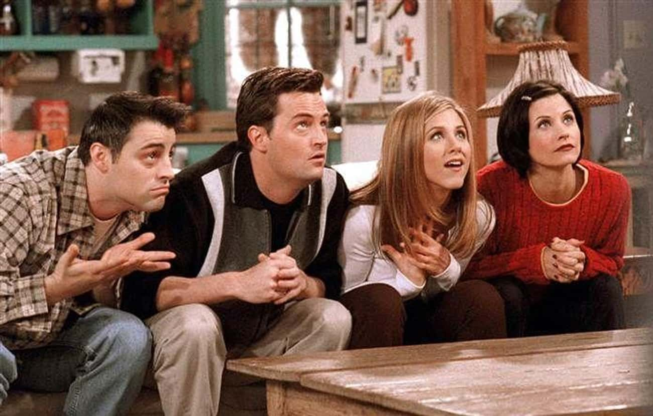 There's A Lack Of Racial D is listed (or ranked) 1 on the list 10 Reasons Why Friends Just Doesn't Hold Up Anymore