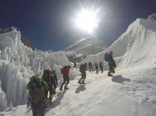 Four Separate Groups Tri... is listed (or ranked) 2 on the list The Chilling Story Behind The Deadliest Day In Mount Everest's History