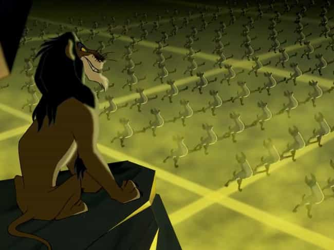 """""""Be Prepared"""" ... is listed (or ranked) 1 on the list 13 Messed Up Things You Never Noticed About The Lion King"""
