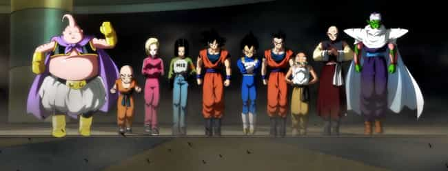 Team Universe 7 is listed (or ranked) 3 on the list 11 Good Arguments For Why Dragon Ball Super Is Better Than DBZ