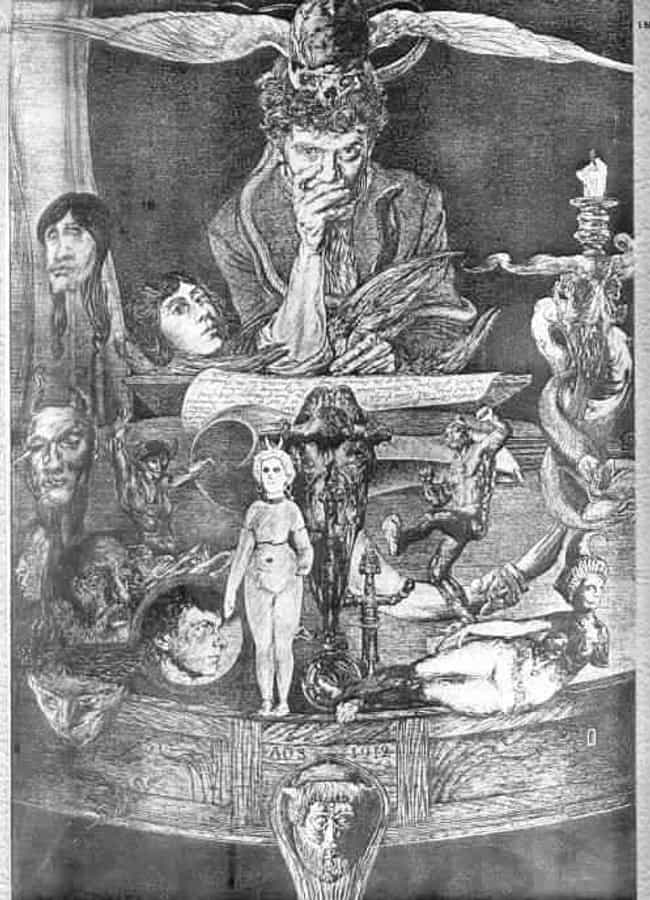 He Invented His Own Magico-Rel... is listed (or ranked) 1 on the list Things You Should Probably Know About English Artist And Occultist Austin Osman Spare