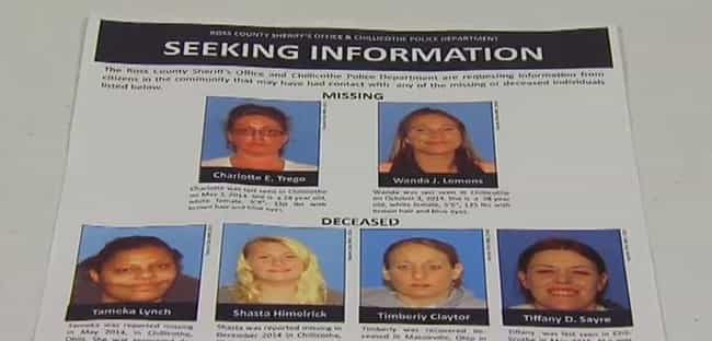 Disturbing Details About The Vanishing Women: Victims Of The Chillicothe  Killer