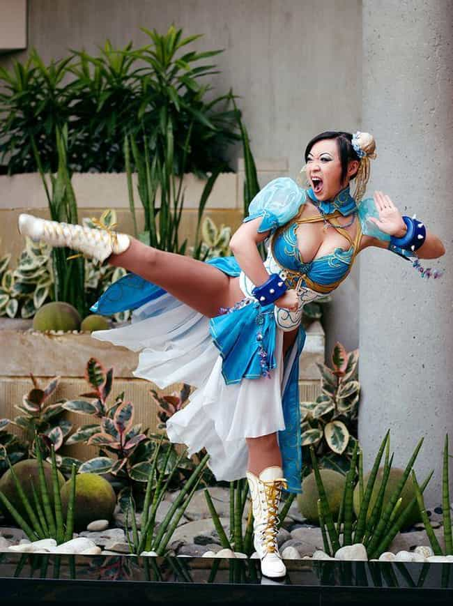 Chun Li is listed (or ranked) 1 on the list The Very Best Cosplays From Chinese Beauty Yaya Han