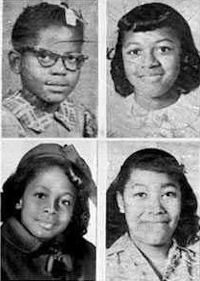 Four Young Girls Were Ki... is listed (or ranked) 2 on the list Facts About The 16th Street Baptist Church Bombing That Ushered In The Civil Rights Movement
